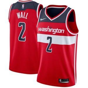 Washington Wizards John Wall  Red Jersey